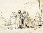 260px-Rembrandt_Christ_with_two_disciples